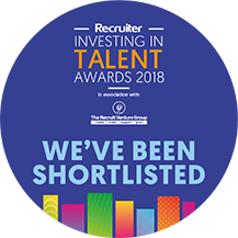 Recruiter Investing In Talent Awards 2018